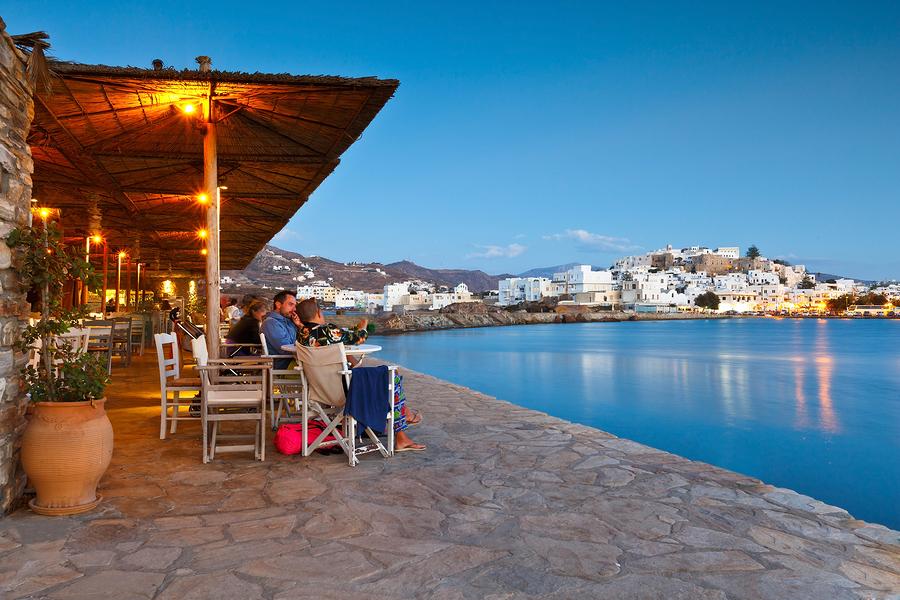 naxis stad restaurang - Naxos